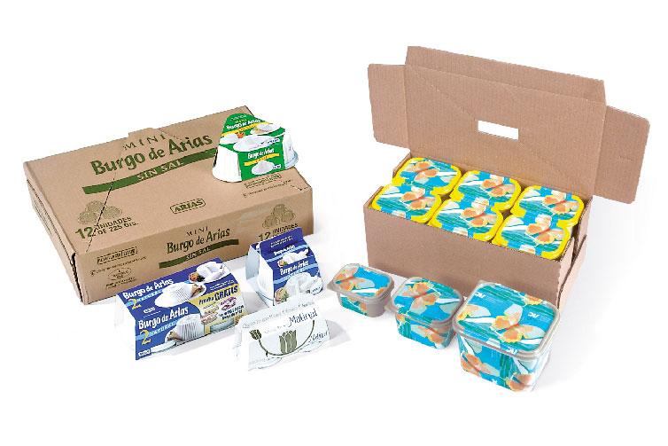 Verpackungsbeispiele - Butter und Frischkaese