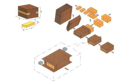 Cariba C700 Produktionsschema.