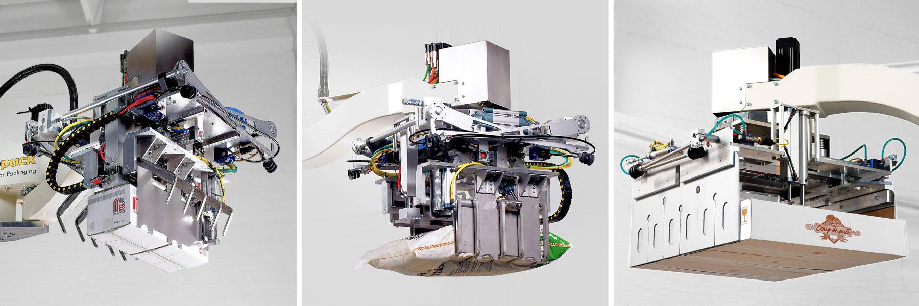 Abbildung der Roboter Palettierung Europack