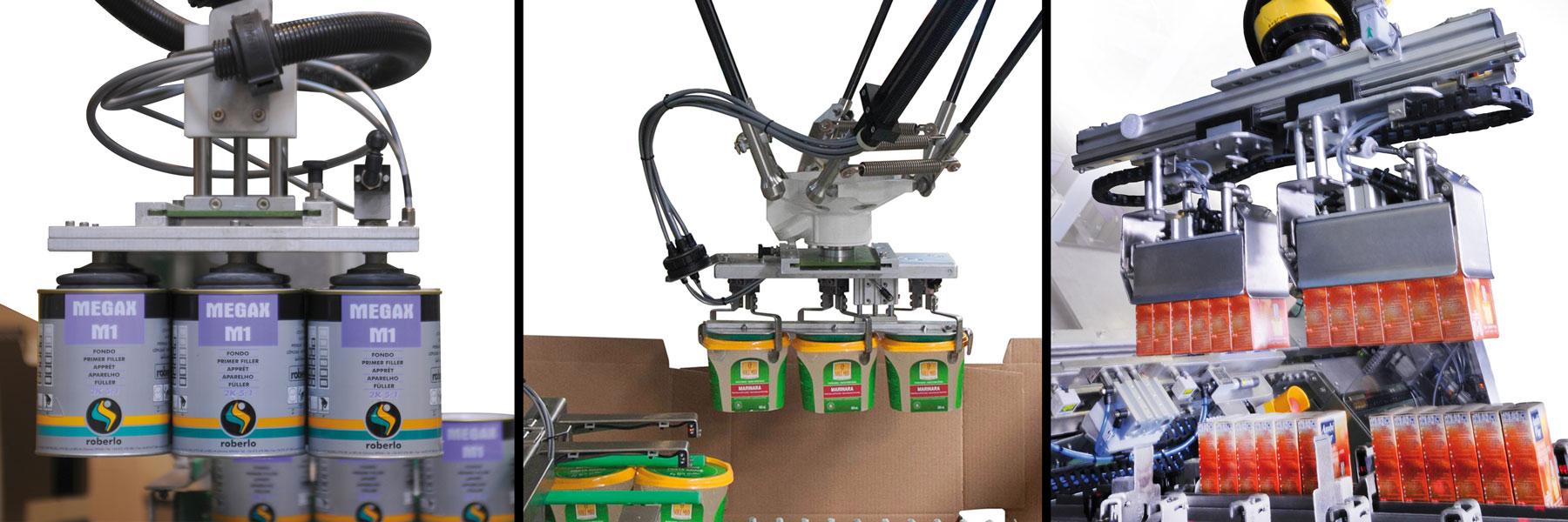Roboter und Belader