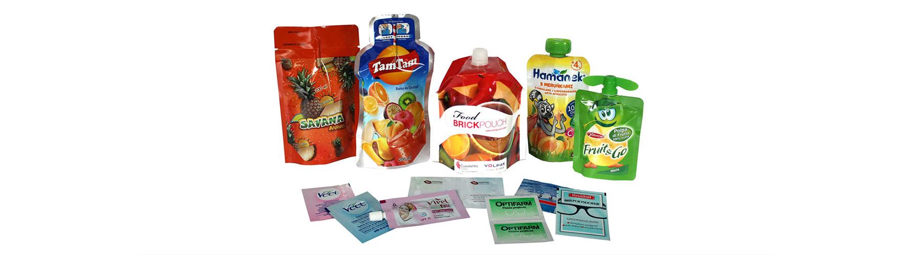 Verpackungen - gemacht mit Schlauchbeutelmaschinen